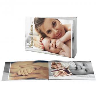 fotodarling Fotobuch Querformat A4 | Digitaldruck matt | Hardcover, samtmatt