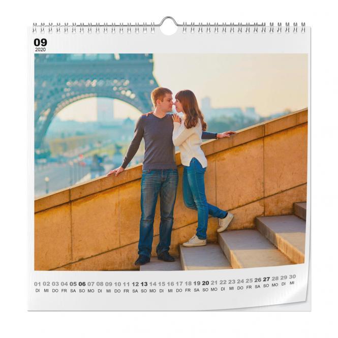Kalender Quadratisch