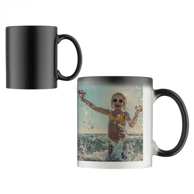 Foto-Tasse mit Zaubereffekt