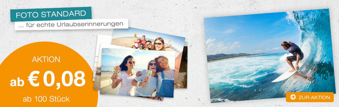Fotodarling Fotos für echte Urlaubserinnerungen Aktion ab 0,08 ab 100 Stück