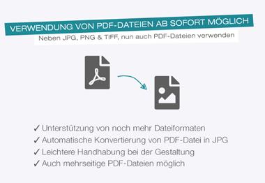 PDF hochladen